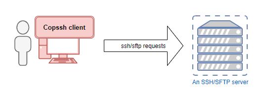 Copssh client