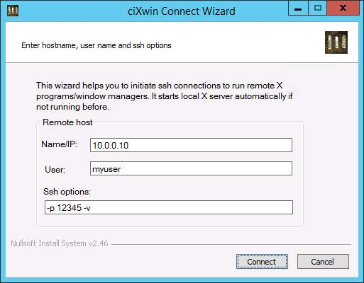 ciXwin Connect Wizard