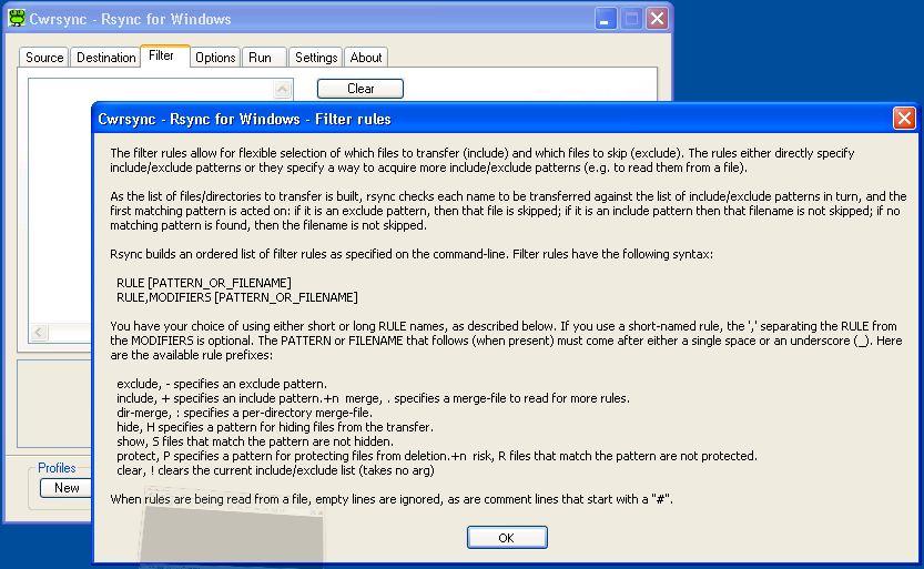 cwRsync - Rsync for Windows | itefix net