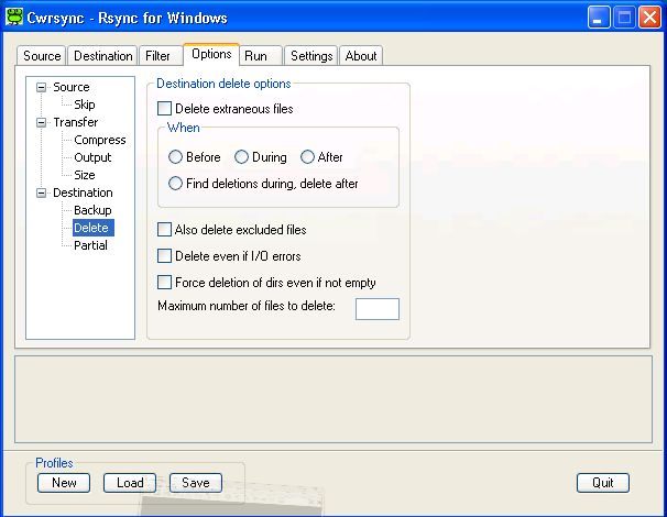 rsync windows 7